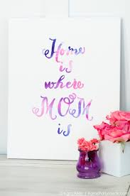 mothers day gifts kara s party ideas celebrate diy watercolor s day gift