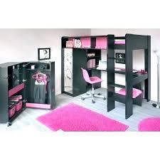 lit surélevé avec bureau lit mezzanine fille avec bureau lit mezzanine bureau enfant