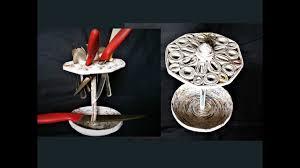 how to make spoon u0026 knife holder with newspaper diy spoon stand
