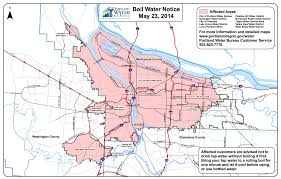 Map Portland by Portland Boil Water Alert Live Updates Oregonlive Com
