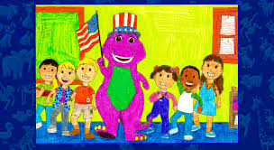 Youre A Grand Old Flag Barney Goes To By Bestbarneyfan On Deviantart