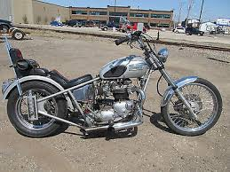triumph bonneville chopper motorcycles for sale