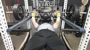 brutal iron gym prilepin u0027s chart u0026 trampoline bench press see