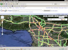 La Traffic Map Los Angeles Traffic Vs Bay Area Traffic Illustrated San