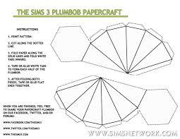 plumbob headband plumbob papercraft snw simsnetwork