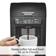 espresso maker electric hamilton beach 6 cup brewstation coffee maker 48274