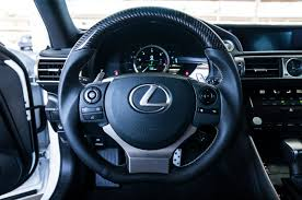 lexus is xe30 new product dctms carbon fiber and silver top steering wheels