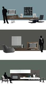 contemporary tv wall unit by poliform tv consoles pinterest
