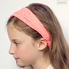 cloth headbands easy elastic headband tutorial scattered thoughts of a crafty