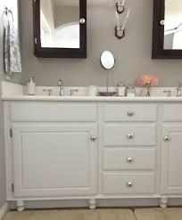 Builders Grade Bathroom by Adding Wood Feet To A Bathroom Vanity Honey N Hydrangea