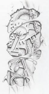 biomechanical graphite by markfellows on deviantart