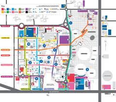 American University Campus Map Garden Locations At Clayton Campus Monash University