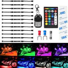 neon mart led lights rgb led car motorcycle flexible neon strips lights kit led factory