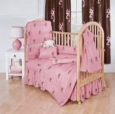 Nursery Bedding Set by Browning Buckmark Pink 3pc Crib Bedding Set Interiordecorating