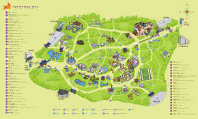 Seoul Map Zoos Seoul Childrens Grand Park Zoo