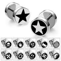 titanium stud earrings best men titanium cross stud earrings to buy buy new men