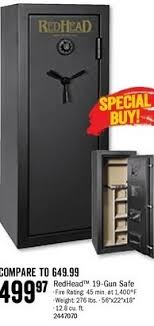 black friday deals on gun cabinets bass pro shops black friday redhead 19 gun safe for 499 97