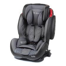 si es auto isofix silla de auto be cool thunder isofix gris grupo 1 2 3 bebés el