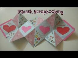 tutorial scrapbook card diy squash scrapbook card making easy tutorial craftlas youtube