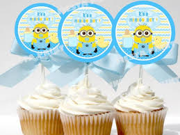 minion baby shower decorations minion cupcakes baby cupcake ideas baby cake