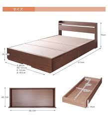 Bed Frame Only Interior Y Works Rakuten Global Market Bedframe Quine Size Cafe