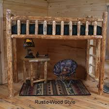 Log Bunk Bed Plans Twist Of Nature Log Furniture Pine Log Loft Bed Furniture For