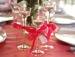 diy wedding centerpiece ideas stem glass tealight candleholder used as wedding favors la