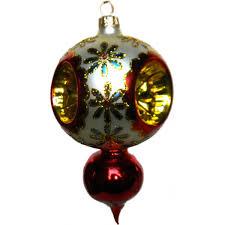 cornflower classicl glass ornament design with