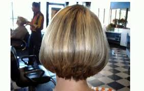 short haircuts back view stacked hairstyle picture magz
