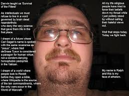 Fedora Guy Meme - i have seen the face of atheism and i hope to never see it again