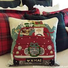 Christmas Pillows Pottery Barn Decorate With Christmas Pillows