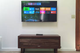 attempting a minimalist living room with shield android tv and
