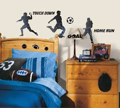 roommates rmk1312scs sports silhouettes peel u0026 stick wall decals