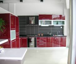 100 red and gray kitchen full sheet sample of maroon grey