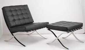 file mies barcelona chair and ottoman jpg wikimedia commons
