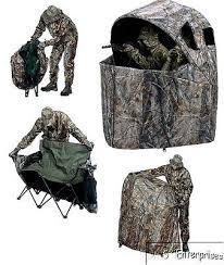 tent chair blind tent chair big blind bow gun deer turkey