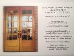 Interior Wood Door Custom Interior Wood Doors Amish Custom Doors