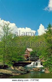 Park West Landscape by Historic Mill In Babcock State Park Appalachian Mountains West