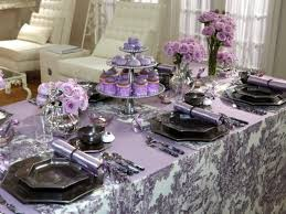 make your wedding look pretty and with purple and silver