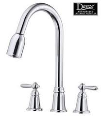 delta 21925lf vessona two handle kitchen faucet with spray chrome