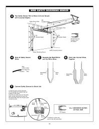 Overhead Door Opener Manual Amusing Overhead Door Wiring Schematic Contemporary Best Image