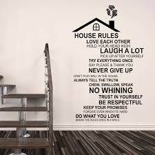 wall stickers uk wall art stickers kitchen wall stickers wfx9310 rooftop house rules english