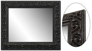 Metal Framed Bathroom Mirrors by Black Metal Frame Bathroom Mirror Doherty House Hanging Black