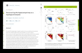 scientific paper writing software impact of social sciences self host a scientific journal with lens reader interface showing text on the left and figures on the right the rich scrollbar reveals where references to a highlighted figure are located