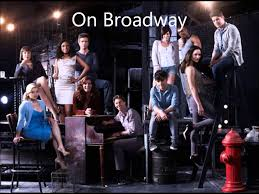 They Say The Neon Lights Are Bright On Broadway On Broadway Youtube