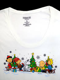 peanuts christmas t shirt peanuts christmas juniors xl women s sizes new peanuts