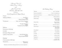 sle of a wedding program episcopal wedding program wedding photography