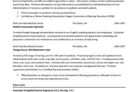 Experienced Rn Resume Sample by Er Registered Nurse Resume Examples Reentrycorps