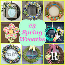 23 beautiful spring wreaths love pasta and a tool belt