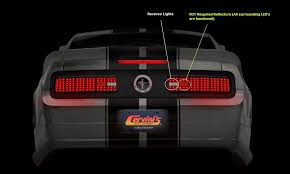 sn95 mustang tail lights 2005 11 mustang cervini s tail l conversion group buy page